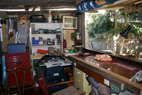 Interior Malcolm's Shed 1